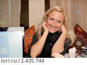 Катя Гордон (2011 год). Редакционное фото, фотограф Алексей Баранов / Фотобанк Лори