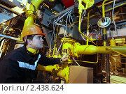Купить «Газотурбинная теплоэлектроцентраль», фото № 2438624, снято 24 марта 2011 г. (c) Виктор Филиппович Погонцев / Фотобанк Лори