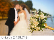 Свадебный букет. Стоковое фото, фотограф Илья Лиманов / Фотобанк Лори