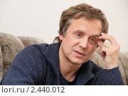 Купить «Актёр Андрей Соколов», фото № 2440012, снято 31 марта 2011 г. (c) Александр Черемнов / Фотобанк Лори