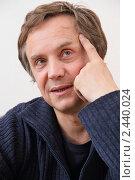 Актёр Андрей Соколов (2011 год). Редакционное фото, фотограф Александр Черемнов / Фотобанк Лори