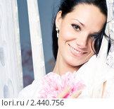 Купить «Портрет красивой девушки», фото № 2440756, снято 14 января 2011 г. (c) Вероника Галкина / Фотобанк Лори