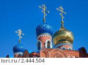 Купить «Купола православия. Храм Воскресения Христова в Самаре», фото № 2444504, снято 2 апреля 2011 г. (c) FotograFF / Фотобанк Лори