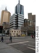 Купить «Улица Мельбурна», фото № 2444868, снято 3 августа 2010 г. (c) Elena Monakhova / Фотобанк Лори