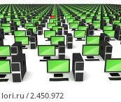 Ошибка в корпоративной компьютерной сети. Стоковая иллюстрация, иллюстратор Арсений Герасименко / Фотобанк Лори