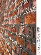 Кирпичная стена. Стоковое фото, фотограф Роман Ушаков / Фотобанк Лори