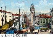 Купить «Порт Рива на озере Гарда. Италия», фото № 2453988, снято 5 июня 2020 г. (c) Юрий Кобзев / Фотобанк Лори