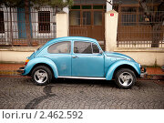 Купить «Автомобиль Volkswagen beetle 1300», фото № 2462592, снято 7 марта 2011 г. (c) Svetlana Yudina / Фотобанк Лори