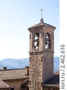 Купить «Крепость в Сан Марино, Италия», фото № 2462616, снято 2 апреля 2011 г. (c) Блинова Ольга / Фотобанк Лори