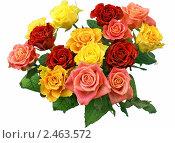 Букет из роз. Стоковое фото, фотограф Валентин Олейников / Фотобанк Лори