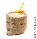 Рис в мешке. Стоковое фото, фотограф Валентин Олейников / Фотобанк Лори