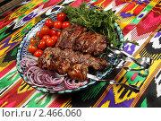 Купить «Восточная кухня, шашлык», фото № 2466060, снято 18 марта 2011 г. (c) Александр Черемнов / Фотобанк Лори