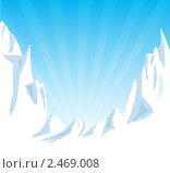Горы. Стоковая иллюстрация, иллюстратор Виталий / Фотобанк Лори