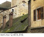 Старый дом, Анси, Франция (2011 год). Редакционное фото, фотограф Yury Khersonskiy / Фотобанк Лори