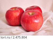 Купить «Натюрморт - яблоки», фото № 2475804, снято 30 января 2011 г. (c) Липатова Ольга / Фотобанк Лори