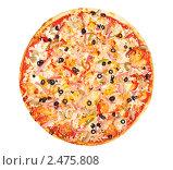Купить «Пицца», фото № 2475808, снято 21 февраля 2011 г. (c) Липатова Ольга / Фотобанк Лори