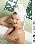 Девушка принимает ванну. Стоковое фото, фотограф ingret (Ира Бачинская) / Фотобанк Лори