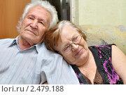 Купить «До старости счастливы вместе», эксклюзивное фото № 2479188, снято 17 апреля 2011 г. (c) Анна Мартынова / Фотобанк Лори