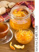 Купить «Варенье из апельсиновых корочек с имбирём», эксклюзивное фото № 2481108, снято 9 апреля 2011 г. (c) Давид Мзареулян / Фотобанк Лори