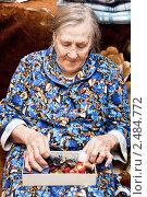 Купить «Бабушка», фото № 2484772, снято 17 апреля 2011 г. (c) Parmenov Pavel / Фотобанк Лори
