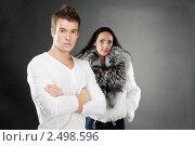 Купить «Юноша и взрослая женщина», фото № 2498596, снято 10 ноября 2010 г. (c) BestPhotoStudio / Фотобанк Лори