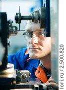 Купить «Инженер-механик  на работе», фото № 2500820, снято 19 февраля 2019 г. (c) Дмитрий Калиновский / Фотобанк Лори