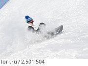 Купить «Сноубордист», фото № 2501504, снято 22 октября 2018 г. (c) Дмитрий Калиновский / Фотобанк Лори