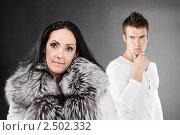 Купить «Семейная пара поссорилась», фото № 2502332, снято 10 ноября 2010 г. (c) BestPhotoStudio / Фотобанк Лори