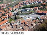 Купить «Обзорный вид на Сан Марино, Италия», фото № 2503556, снято 2 апреля 2011 г. (c) Блинова Ольга / Фотобанк Лори