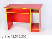 Красный стол. Стоковое фото, фотограф Гордиенко Олег / Фотобанк Лори
