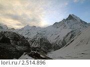 Купить «Непал. Район Аннапурны. Мачапучаре», фото № 2514896, снято 12 апреля 2011 г. (c) Александр Давыдов / Фотобанк Лори
