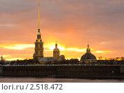 Купить «Петропавловская крепость. Санкт-Петербург», фото № 2518472, снято 19 апреля 2011 г. (c) Алексей Ширманов / Фотобанк Лори