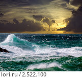 Море на закате. Стоковое фото, фотограф Яков Филимонов / Фотобанк Лори