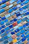 Абстрактный мозаичный фон, фото № 2525944, снято 10 мая 2011 г. (c) FotograFF / Фотобанк Лори