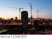 Купить «Строительство. Балаклавский проспект. Москва», фото № 2526072, снято 11 мая 2011 г. (c) Екатерина Овсянникова / Фотобанк Лори