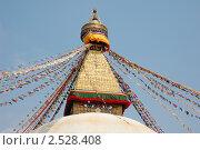 Купить «Ступа Будданат, Непал (Bouddhanat stupa, Nepal)», фото № 2528408, снято 30 марта 2011 г. (c) Светлана Колобова / Фотобанк Лори