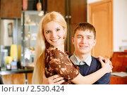 Купить «Влюбленная пара», фото № 2530424, снято 8 февраля 2009 г. (c) BestPhotoStudio / Фотобанк Лори