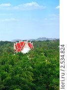 Купить «Буддийский храм в тропическом саду. Таиланд», эксклюзивное фото № 2534824, снято 11 декабря 2008 г. (c) Татьяна Белова / Фотобанк Лори