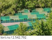 Купить «Зелёные быстровозводимые гаражи в Москве», фото № 2542792, снято 11 мая 2011 г. (c) Павел Кричевцов / Фотобанк Лори