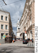 Купить «Москва, Никольский переулок. Церковь Николая Чудотворца Красный звон», эксклюзивное фото № 2546252, снято 19 апреля 2010 г. (c) lana1501 / Фотобанк Лори