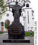 Храм святого Саввы - Белград, Сербия (2010 год). Стоковое фото, фотограф Алексей Стоянов / Фотобанк Лори