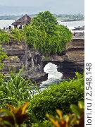 Древний индуистский храм. Бали, Индонезия. Стоковое фото, фотограф Ольга Дудина / Фотобанк Лори