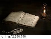 Купить «Чтение Корана», эксклюзивное фото № 2550740, снято 3 октября 2010 г. (c) Кучкаев Марат / Фотобанк Лори