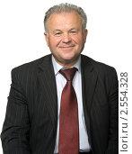 Портрет пожилого мужчины. Стоковое фото, фотограф Сергей Галушко / Фотобанк Лори