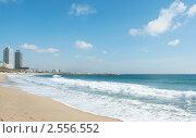 Городской пляж в Барселоне. Стоковое фото, фотограф Мария Исаченко / Фотобанк Лори