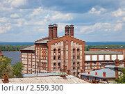 Купить «Самара. Вид на Жигулевский пивзавод», фото № 2559300, снято 26 мая 2011 г. (c) FotograFF / Фотобанк Лори