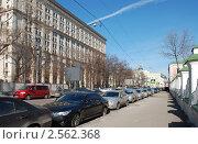 Купить «Москва. Вид на улицу Большая Ордынка», эксклюзивное фото № 2562368, снято 1 апреля 2010 г. (c) lana1501 / Фотобанк Лори