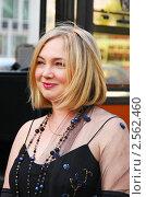 Актриса Марина Яковлева на кинофестивале (2010 год). Редакционное фото, фотограф ElenArt / Фотобанк Лори