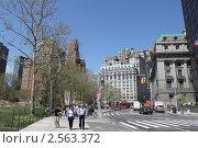 Купить «Нью-Йорк. Батарейный парк», фото № 2563372, снято 26 апреля 2011 г. (c) Юлия Козинец / Фотобанк Лори
