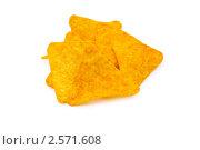Купить «Национальное мексиканское блюдо - кукурузные чипсы», фото № 2571608, снято 20 января 2009 г. (c) Elnur / Фотобанк Лори